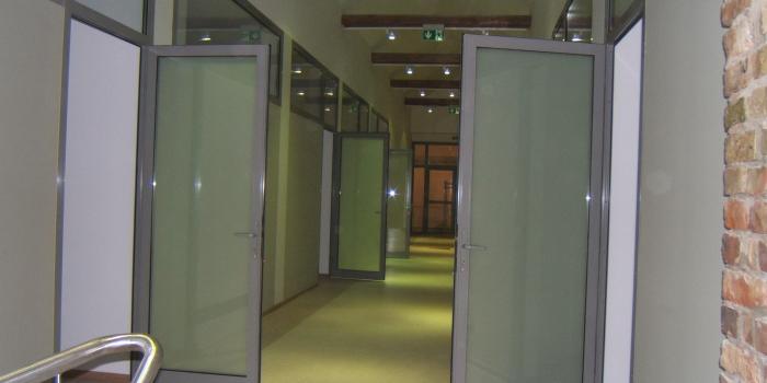Centro poliklinikos kabinetų įrengimas palėpėje