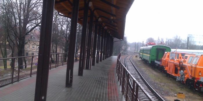 Dengtos geležinkelio platformos, esančios Geležinkelio g. 16, Vilniuje, remonto darbai